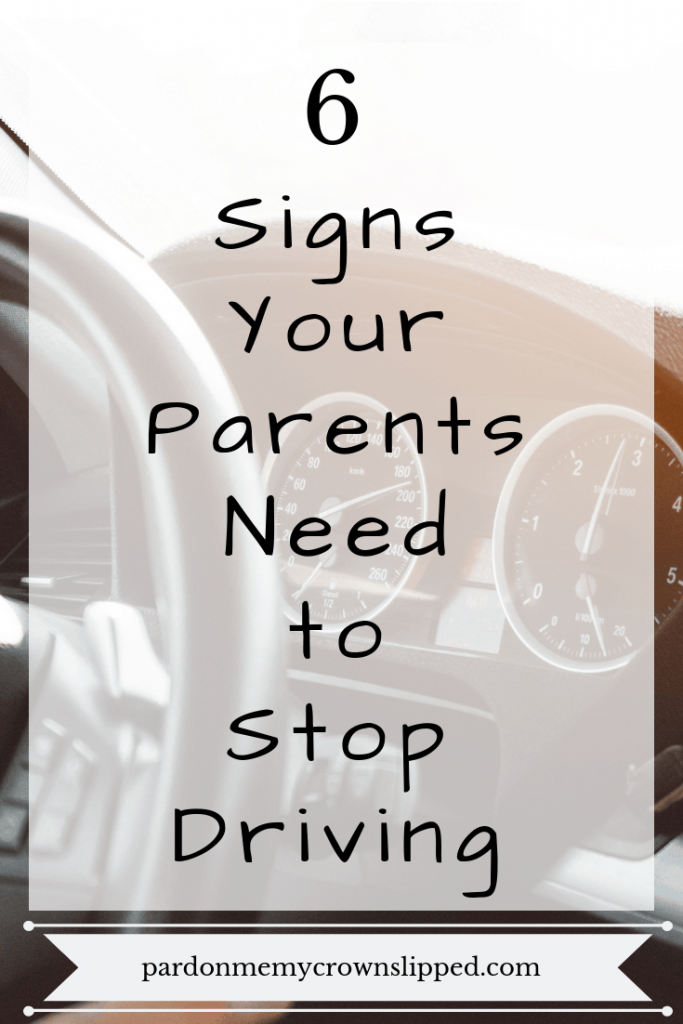 Worried your parents shouldn't be driving.  Are any of these things happening to them?  Do you even know?  Read on to decide if you need to step in and take away their keys for good. #elderly #agingparents