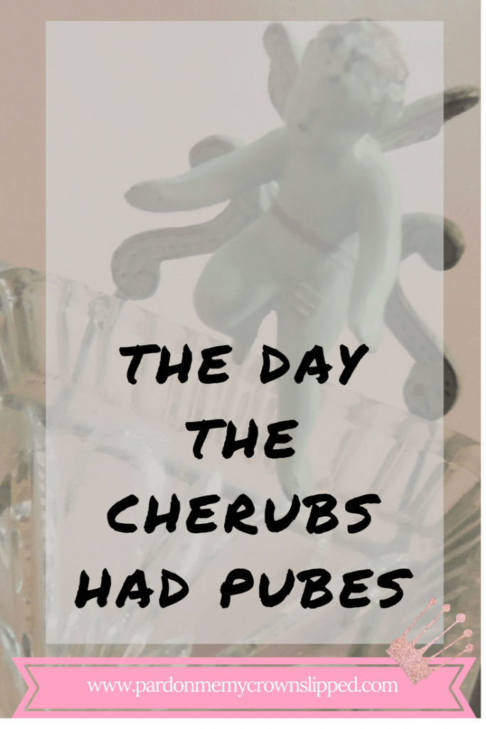 The Day the Cherubs Had Pubes ...funny look at life caring for someone with dementia