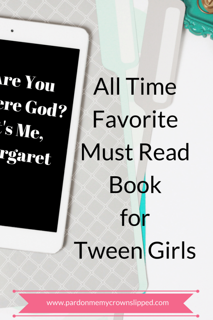 Are You There God? It's Me, Margaret book review. Coming of age classic on periods, boobs, and boys. #tweenbooks #teenbooks #pubertybooks all-time-favorite-must-read-for-tween-girls