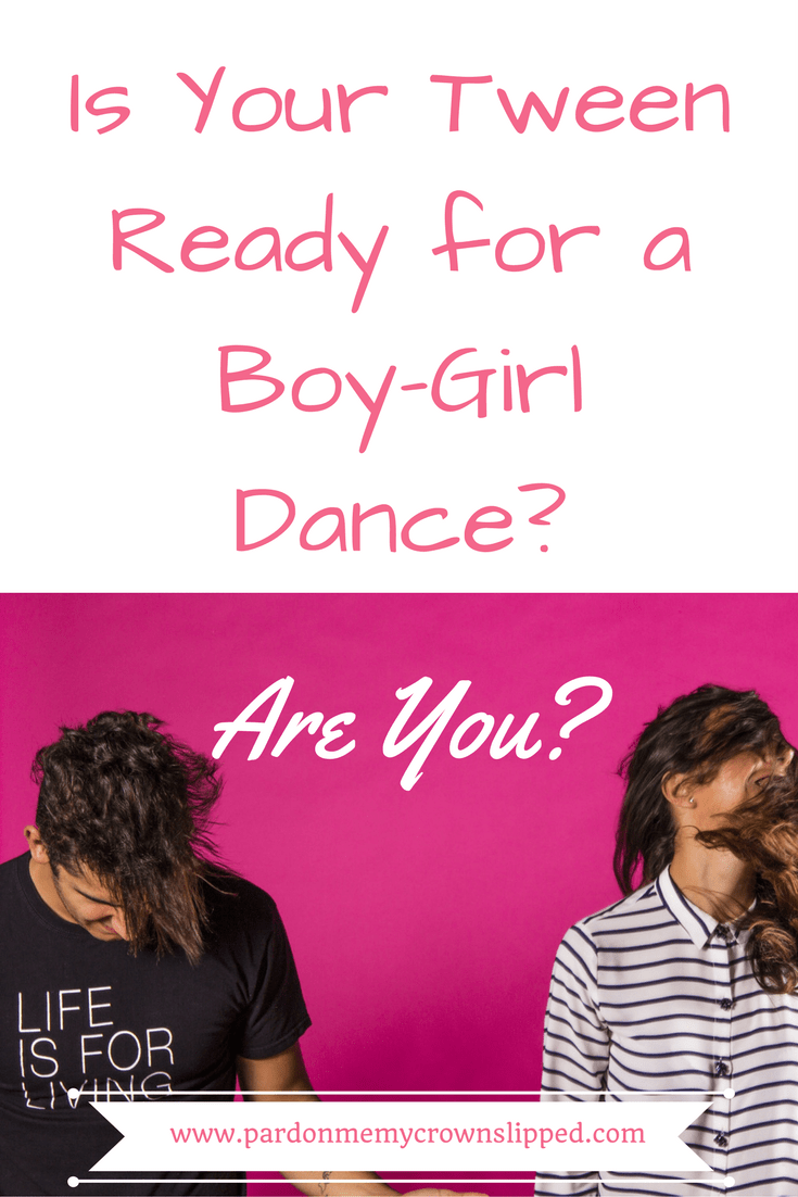 Read now to see why your tweens first boy girl dance doesn't have to be so scary. #tweengirls #tweenboys