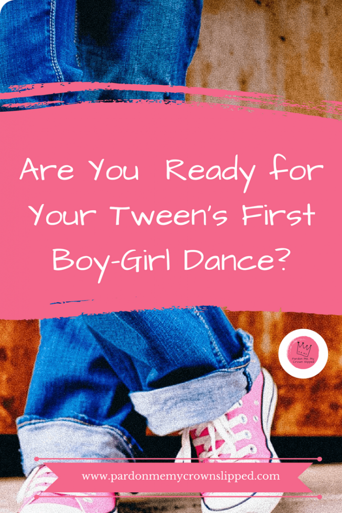 Find out what it's really like at your tween's first boy girl dance