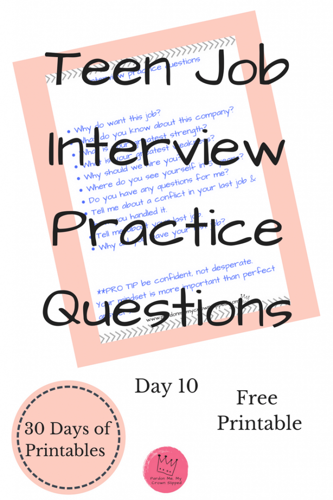Try these job interview practice questions to get yourself ready for your next job interview.