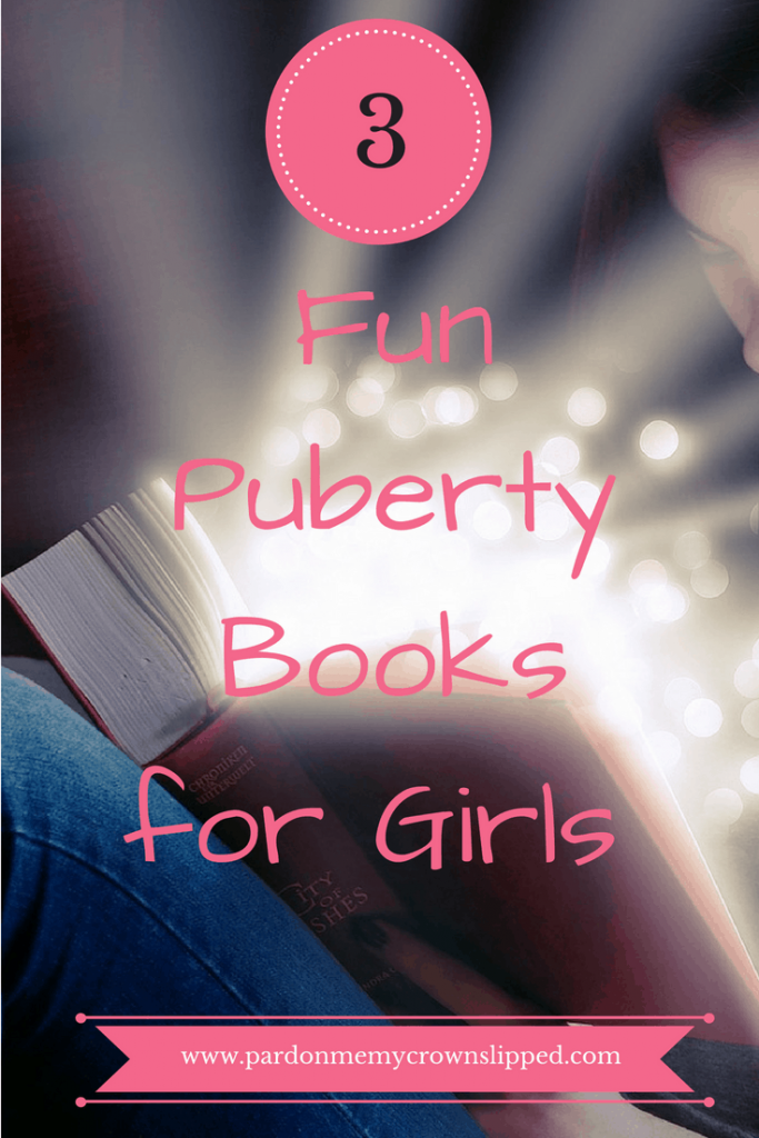 Get these fun puberty books for girls for your tween #tween #teen #puberty #books