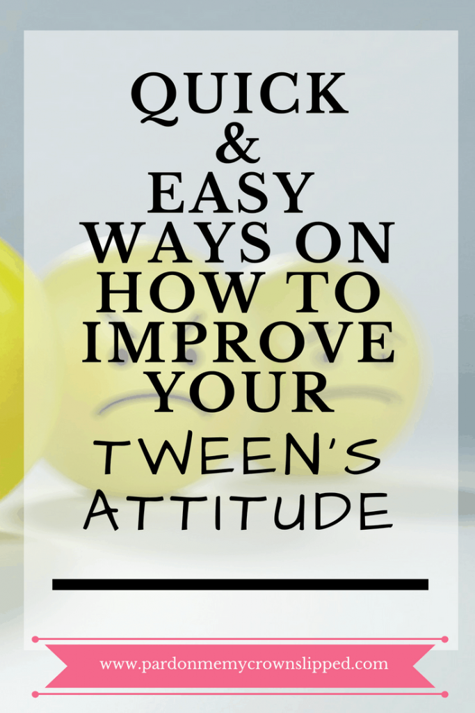When tween attitude takes over at your house, see if one of these is the problem #parenting #tween #attitudeproblem #puberty