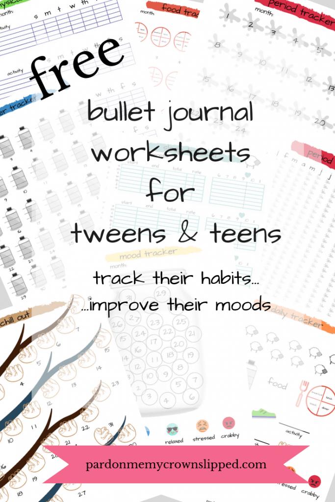 Free Printable Bullet Journal Worksheets srcset=